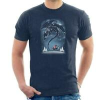 How To Train Your Dragon Starry Dragon Sky Men's T-Shirt