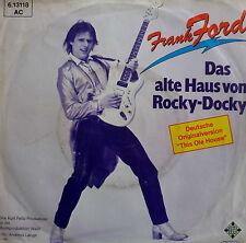 """7"""" 1981 CV è VG + + Frank FORD la vecchia casa di Rocky-Docky"""