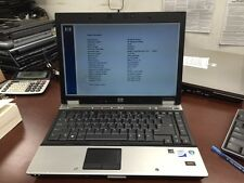 Lot of 10 HP ELITEBOOK 6930P Laptop C2D 2.40GHZ 4GB 120GB WebCam w/ AC