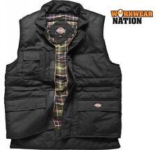Men's Polyester Gilets Bodywarmers Hip Length Zip Neck Coats & Jackets