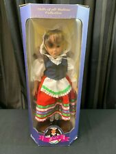 "NEW in BOX ~ Dolls of all Nations ~ 12"" Tall ~ 1995 ~ ITALY"