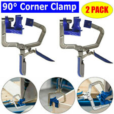 NEW 2x Woodworking Corner Clamp for Kreg Jigs & 90° Corner Joints TJoints Gadget