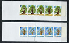 S9093) Czech Rep. MNH 2004, Trees Booklets X 2