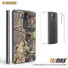 Beyond Cell Tri Max®LG V10 Case, Ultra Slim 360°Full Body Cover-Hunter Camo