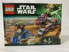New Condition Discontinued LEGO Star Wars BARC Speeder with Sidecar (75012)