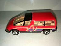 RARE VINTAGE Hot Wheels 1990 Chevy Lumina Minivan Red with Black Trim