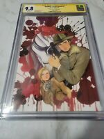 HEADLESS #1 Signed By PEACH MOMOKO CGC 9.8 VIRGIN VARIANT LTD 150