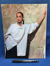 Sade Dream Academy Clipping Japan Magazine Music Life 1986 06 June Color 1 sheet