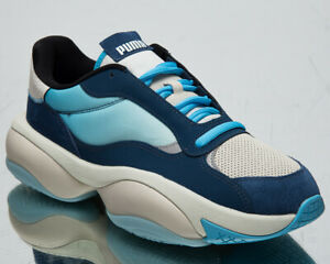 Puma Alteration Planet Pluto Men's Dark Denim Blue Flower Lifestyle Sneakers