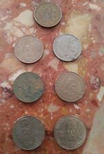 lot de 7 pieces de 10 francs