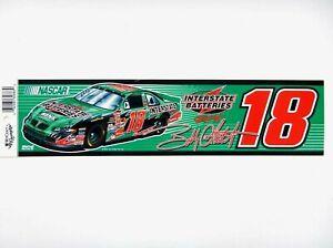 Bobby Labonte #18 Interstate Batteries Bumper Sticker/Strip (Nascar)(2002)