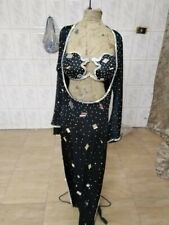 Egyptian professional galabeya baladi belly dance costume many color and any siz