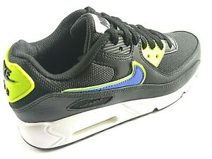 Nike Air Max 90 Boys Shoes Trainers Uk Size 3 - 6   DA4670 001