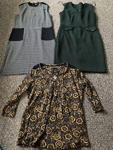 TU Bundle of dresses & top size 12 VGC