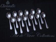 Christofle SPATOURS 12 Ice Cream Spoons, Cuillères à Glace 12.5cm