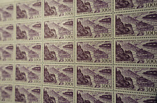 FEUILLE SHEET TIMBRE POSTE AÉRIENNE PA N°26 x25 1949 NEUF ** LUXE MNH COTE 540€