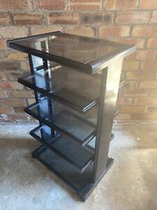 Target Audio LR5 ADJUSTABLE Hifi Turntable Rack shelf Shelves Stand tinted Glass