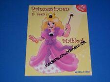 Malbuch Prinzessinnen und Feen mit Glitzerstein