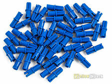 50x LEGO® Technic 43093 Verbinder Pins blau NEU Blue Axle Pin Friction Ridges