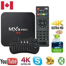 2017 MXQ PRO 4K Amlogic S905X Android 6.0 Smart TV Box + mini keyboard
