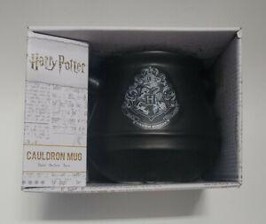 NEW ~ Harry Potter Cauldron Mug Ceramic Drinking Cup w/ Emblem Unique