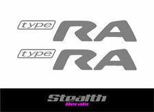 Type RA Replacement Premium Quality Decals Stickers x2 sti wrx subaru impeza