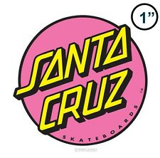 Santa Cruz Other Dot Skateboard Sticker Pink SMALL 1in circle si