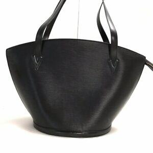 Louis Vuitton Epi Saint Jacques Noir M52262  Shoulder Bag  Hand Bag