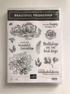 Stampin' Up! Beautiful Friendship Photopolymer Stamp Set