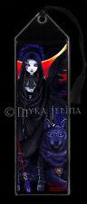 Gothic BOOKMARK Guardian Angel Wolf Eclipse Rayvnwolf Fae Myka Jelina Fairy