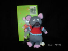 Baby Safe Marie Mouse Doll Knitted Latitude Enfant France Granimals New Retired