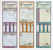 Ganz Spring Song  Sticky Notes - Set of 3 ER16356