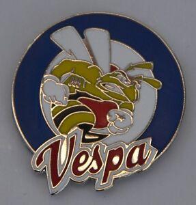 Vespa Wasp Target Mod Scooter Quality Enamel  Pin Badge