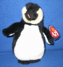TY ADMIRAL the PENGUIN BEANIE BABY - MINT with MINT TAGS
