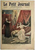 "Paris Opera ""Thais"" - La Madeleine Bombed orig 1894 French ""Le Petit Journal"""