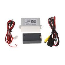 Car Backup Camera Rearview RGB To AV Converter Adapter For Volkswagen RNS510 New
