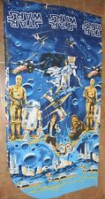 NWOT Vintage Star Wars BIBB FULL Bedding Top Blanket Sheet 90x105 Unused New
