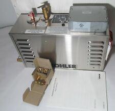 NEW KOHLER 5529-NA INVIGORATION STEAM BATH GENERATOR 9KW