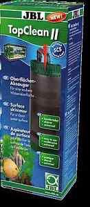 JBL Top Clean II Aquarium Fish Tank Surface Skimmer Filter Skim 60 - 600Ltr