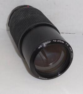 Minolta MD 70-210mm, f/4.0 Zoom Lens....READ
