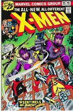 Uncanny X-Men #98 Facsimile Reprint Cover Only w/Orig Ads Sentinels App Cockrum