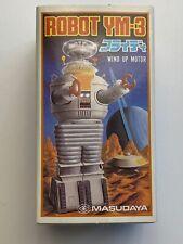 Masudaya Lost in Space Ym-3 Robot Wind Up Toy Figure – Mib – 1985