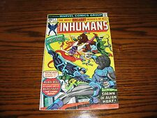 Marvel - THE INHUMANS #1 Issue Comic!!  1975  Glossy VG+/FN