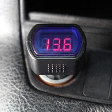 KFZ Auto Batterie Voltmeter über Zigarettenanzünder Messgerät Ladekontrolle