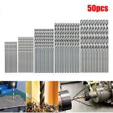 50 outils de forage en acier à grande vitesse HSS Set 1 / 1.5 / 2 / 2.5 / 3mm