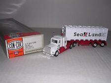 CON-COR #2022  Kenworth 10 Wheel Cab w/30' Bulktainer Trailor  Built-up H.O.Ga.