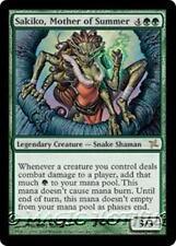 SAKIKO, MOTHER OF SUMMER Betrayers of Kamigawa MTG Green Creature — Snake RARE