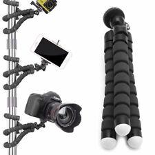 Tripod Flexible Stand Gorilla Mount Monopod Holder For GoPro Camera Black