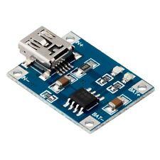 MODULO TP4056 CARGADOR BATERIA LITIO 1A LIPO MINI USB FUENTE ALIMENTACION LI-ION