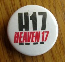 More details for heaven 17 vintage metal pin badge from the 1980's pop retro